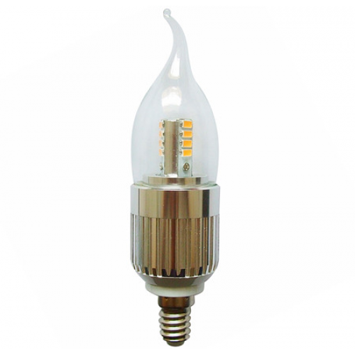 flame tip led candle bulb dimmable 7 watt e14 base for chandeliers light bulb warm white 3000k. Black Bedroom Furniture Sets. Home Design Ideas