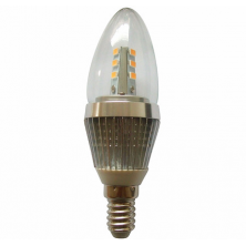LED Light 7 Watt E14 Base LED Candle Bulb 60w 60watt Bullet top Chandelier Light Bulbs