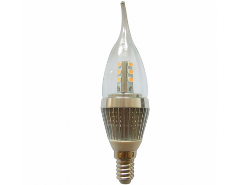 led light 7 watt e14 base led candle bulb 60w 60watt flame bent tip chandelier light bulbs. Black Bedroom Furniture Sets. Home Design Ideas
