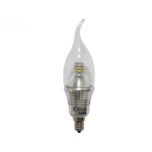 E12 Led Dimmable: E12 LED Light Bulbs Dimmable Warm Daylight Cold White 60w