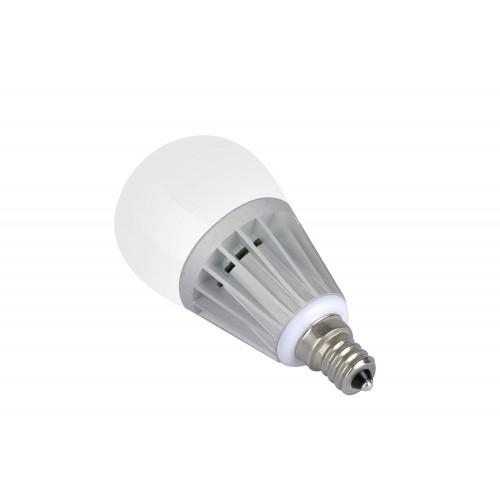 6pack daylight 5w led candle bulb led candelabra light bulb e12 base round shape