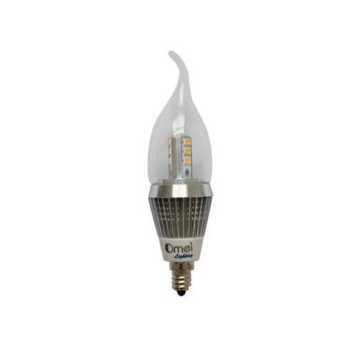 Dimmable 60 watt equivalent candelabra led bulbs daylight white dimmable 60 watt equivalent candelabra led bulbs daylight white 4000k decorative candle light bulb candelabra basee12 120v led chandelier bulb for home aloadofball Images