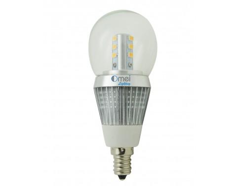 OmaiLighting Chandelier LED Bulb E12 Candelabra Base Light Bulbs 5w ...