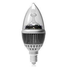 Dimmable 4W LED Chandelier B10 Bulb E12 Candelabra 120V