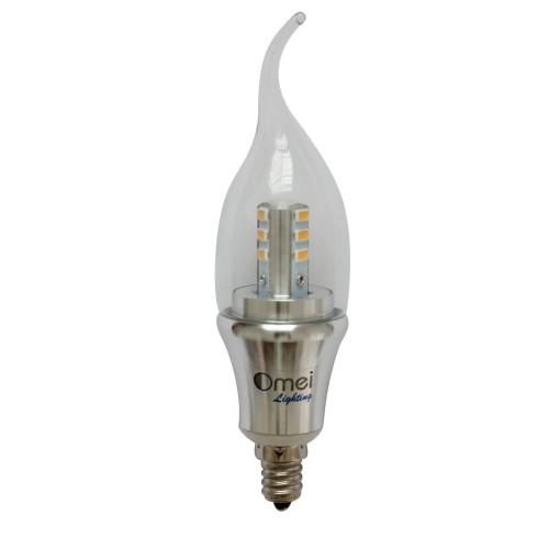 Dimmable 6 pack omailighting e12 6w led e12 candelabra E12 light bulb