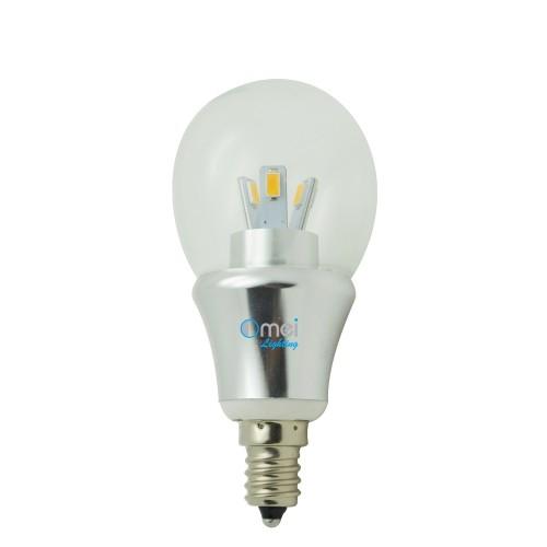 LED bulb E12 200 lumen, chandelier clear, 3.0 Watts, Small LED Light ...