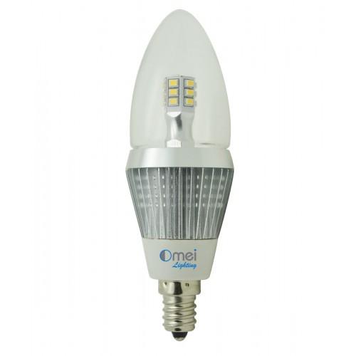 led candelabra bulbs dimmable e12 base led 5w 50 watt daylight white 4000k to. Black Bedroom Furniture Sets. Home Design Ideas