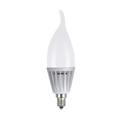 6 Pack Daylight 5w Led Candle Bulb Led Candelabra Light