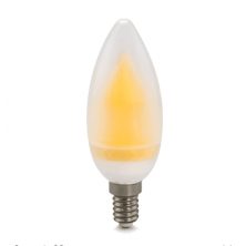 UL-listed Dimmable 110V 4W LED Candle Light - Omni-directional E12 Candelabra Bulb