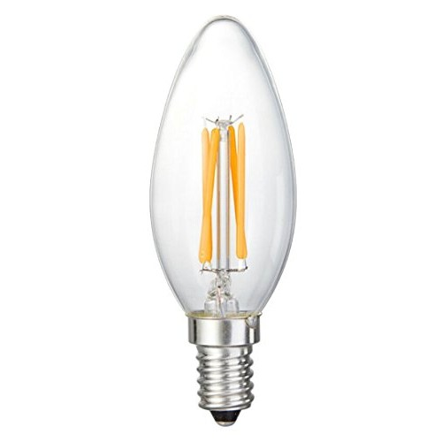 60w Led Candelabra Bulbs: C35 6-Watt LED Filament Candelabra Bulb