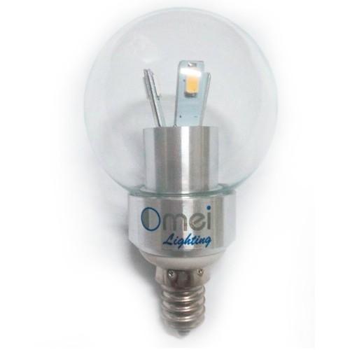 Candle Base Light Bulbs: LED 3W E12 Candelabra Base Dimmable 40 watt Candle Light Globe Bulb,Lighting