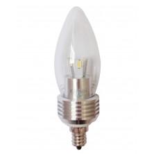 10X NEWEST LEDS Flame Tip LED Candelabra Bulb 110V 350 Lumens E12 Base 5W Cool white Dimmable Chandelier Light bulbs