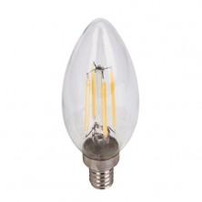 Cool White LED Filament Candelabra ,e12 LED Filament Light Bulb, LED Filament Bulb Dimmable,5w B10 LED Filament Chandelier Bulb