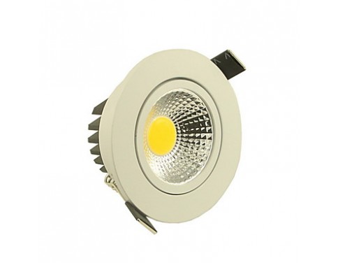 5 W 1 COB 500-550 LM Warm White/Cool White Dimmable Ceiling Lights AC 110-130 V