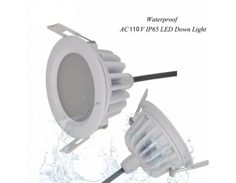 dimmable led downlight ac110v ip65 waterproof led ceiling spot light