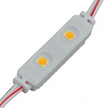 16.4-Feet String of 50 Water-Resistant Mini LED Modules, Each with 2xSMD3528, 12-Volt, Warm White