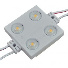 16-Feet String of 25 Water-Resistant High Output LED Modules, Each with 4xSMD2835, 12-Volt, Warm White