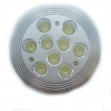 9 Watt AR111 G53 LED Bulbs G53 Energy Saving Ceiling Lamp Warm White