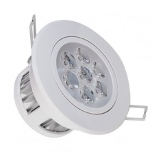 2-Pack LED Energy Saving Flush-fitting Ceiling Light 7W 85-265V Cool White + led driver