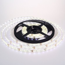 3528-IP65-White-60L Pure White LED Strip Light, Waterproof LED Flexible Light Strip 12V with 300 SMD LED