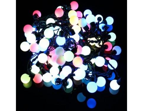 LED String Light 8W 100-LED RGB Light Ball-Shaped(AC220V/10m/AU Plug)