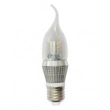 Dimmable 5W LED Candle Bulb, LED Candelabra Light Bulb, E26 Medium Base, Faliment Shape, 40 Watt Replacement, Candle LED, Candelabra LED