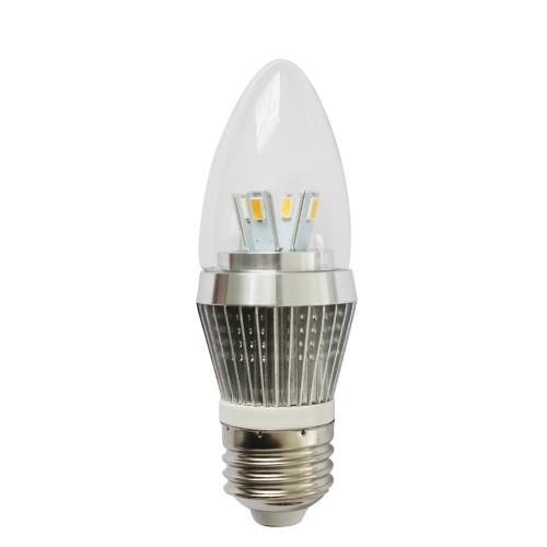 Led Dimmable E26 Medium Base Torpedo Shape 4w 25 Watt Candelabra Light Bulb 500x500 Jpg