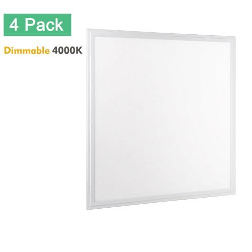 2x2 LED Flat Panel Light, OmaiLighting 4-Pack 2x2 LED Panel Light ...