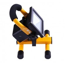 10W LED Portable Light Flood Light Portable Work Light LED Floodlight Rechargeable Flood Light Warm White 3000K