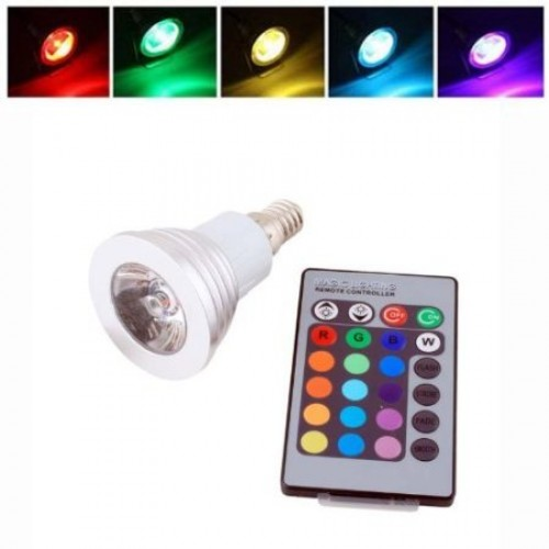 3w E14 16 Colors Changing Rgb Led Light Bulb Lamp With Remote Control Ac 85 240v1 500x500 Jpg