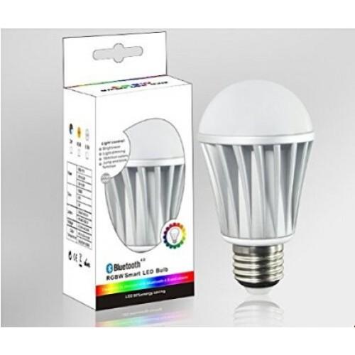 E27 Edison Screw 7 Watt LED Super Smart App Controlled Bluetooth Light Bulb,RGB  LED Bulb Light