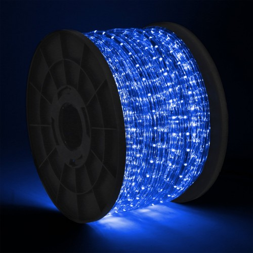300 led 2 wire blue rope light home patio party christmas 300 led 2 wire blue rope light home patio party christmas decorative in outdoor aloadofball Image collections