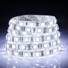 12V LED Flexible Strip 60W 300*5050SMD IP65 Epoxy Natural White(DC12V/5m) Christmas Lights