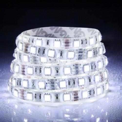 12V LED Flexible Strip 60W 300*5050SMD IP65 Epoxy Natural White ...