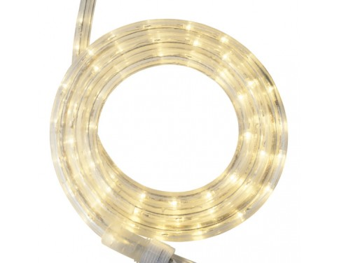 18 warm white led rope light 2 wire 12 12 volt aloadofball Images
