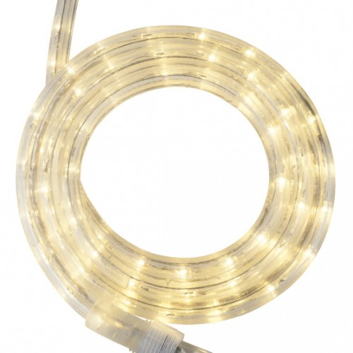 12 warm white led rope light 2 wire 12 120 volt aloadofball Images