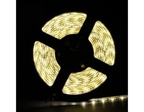 16.4FT 5M SMD 5050 Waterproof 300LEDs Warm White LED Flash Strip Light ,LED Flexible Ribbon Lighting Strip,12V 60W