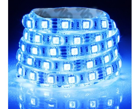 Blue LED Strip One Roll 5 Meters for 3528 5050 SMD LED Lamp Light Strip
