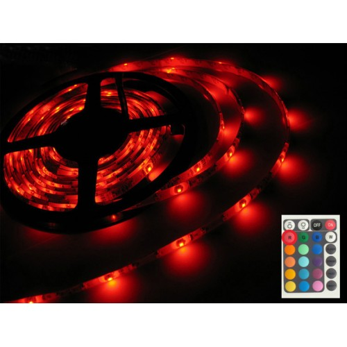 Diy Christmas Light Controller Kit: LED Christmas Lights 2 Meter RGB LED Strip Kit With