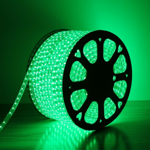 110 120V LED Strip Light  Green  Super Bright 5050 LEDs  Waterproof  Pack  of 50M  Flexible LED Rope Light110 120V LED Strip Light  Green  Super Bright 5050 LEDs  . Green Led Rope Lighting. Home Design Ideas