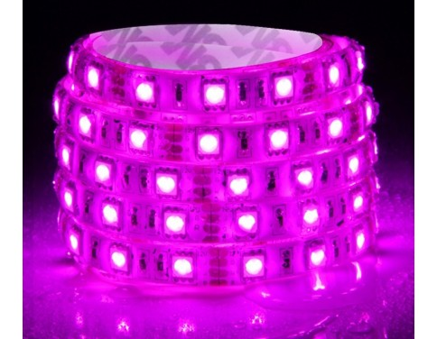 Purple LED Strip One Roll 5 Meters for 3528 5050 SMD LED Lamp Light Strip