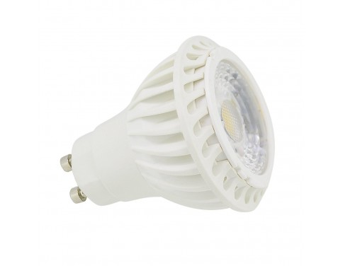 1 pack 7w COB LED GU10 Light Bulb, day white, 60w Replacement for Halogen bulb [Energy Class A]