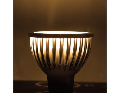 10-Pack 110V 4W Dimmable GU10 LED Spotlights- Warm White/Daylight GU10 LED Bulb (330lumen-50watt Equivalent) 45 Degree Beam Angle