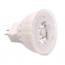 12V 2Watt Nano-ceramic MR11 LED Bulb - 7000K Pure White LED Spotlight - 100 Lumen
