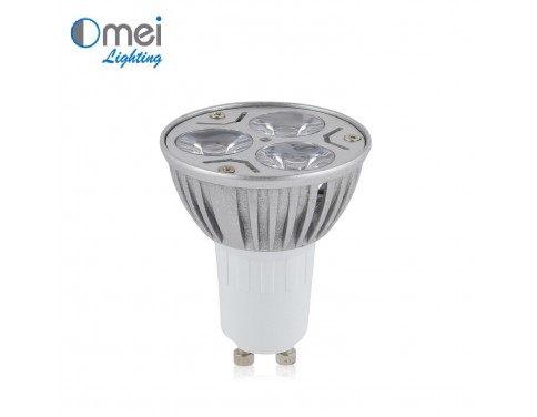 4-Pack 4W Watts Pure White Daylight LED Gu10 Bulbs 30 Degree Spotlight Flood Light Bulb