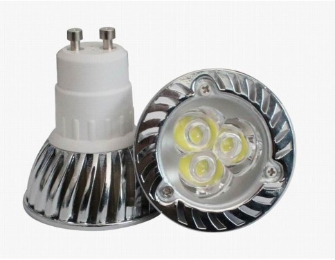 4W GU10 Super Bright LED Light Bulbs - Warm White - 3000k 35W Equivalent