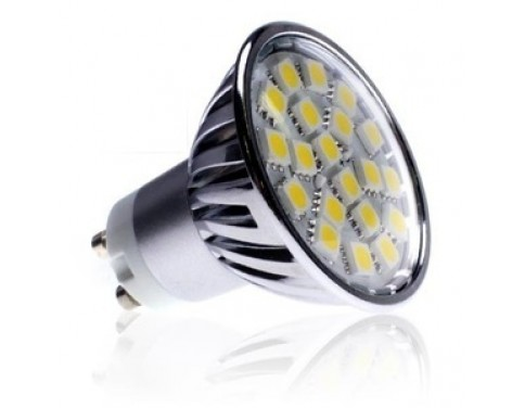 5050 SMD LED CREE 4W GU10 Bulb 120V Warm White Dimmable