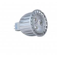 6W LED Bulb LED Spotlight - GU5.3 MR16 Base - 540 Lumen Warm White for Landscape, Recessed, Track Lighting