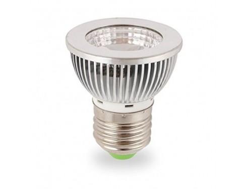 COB 5W LED Par16 Spotlight Par16 Halogen Bulb Super Bright E26 E27 Base Cool White