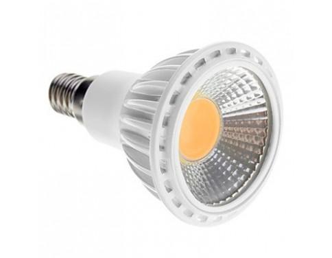 Dimmable E14 5W COB 450-480LM 2700-3500K Warm White Light LED Spot Bulb